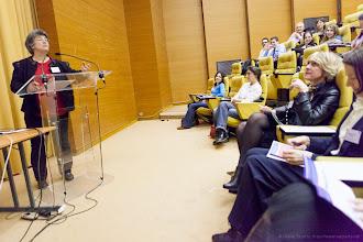 Photo: Anne Aubert, présidente de la conférence universitaire en réseau des responsables de l'orientation et de l'insertion professionnelles- Photo Olivier Ezratty