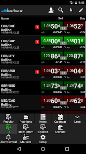 InterTrader Trading App- screenshot thumbnail