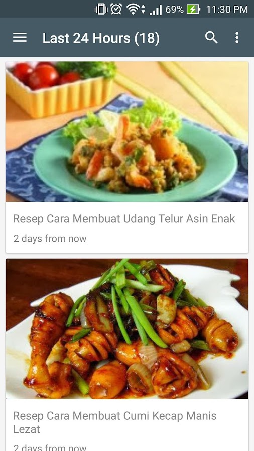 resep masakan indonesia update screenshot