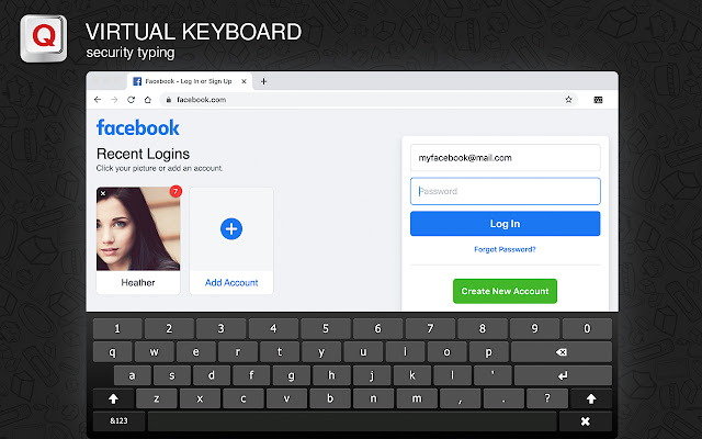 Screen Virtual Keyboard- specific needs tool