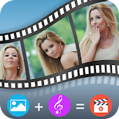 Photo Video Maker with Music- Movie Maker & Editor