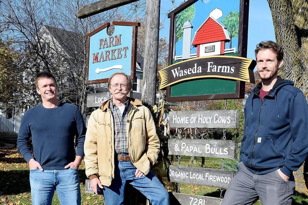 Waseda Farms Wisconsin Tom Lutsey, Matt Lutsey and Jeff Lutsy