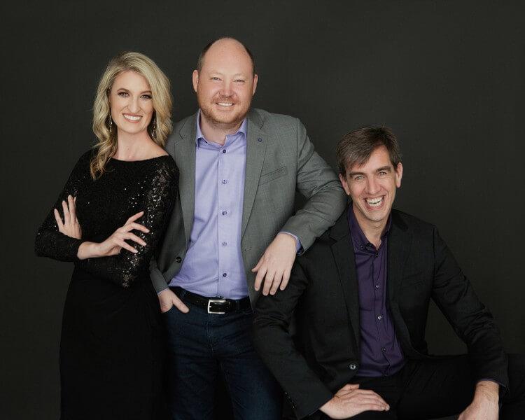 Amanda, Donovan and Rhesa: 17hats leadership team, and small business experts