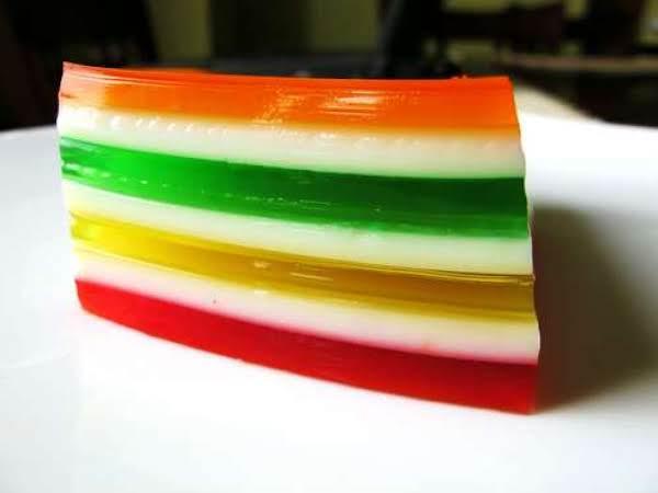 Seven Layer Jello Recipe