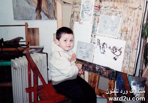 ابداعات الفنان الموهوب الطفل Dusan Krtolica