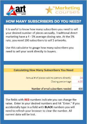 How many subscribers do you need