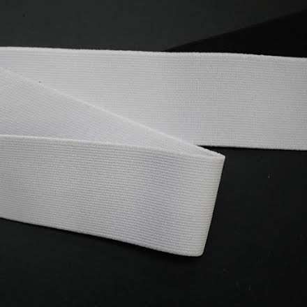 Resår 40mm - svart & vit