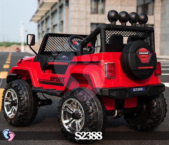 Ô tô điện địa hình S2388 4 động cơ, bánh cao su 5