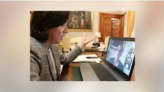 La delegada del Gobierno en Andalucía, Sandra García, en una imagen de archivo. - DELEGACIÓN DEL GOBIERNO
