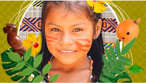 menina indigena