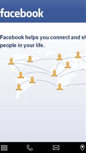 social network - náhled