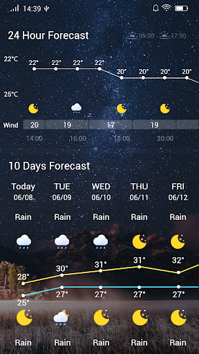 Weather Forecast 1.5.1 screenshots 5