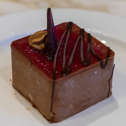 Raspberry Chocolate Square