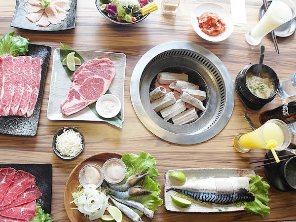 桃園 和東燒肉屋 炭火燒肉 澎湃套餐 除了豐富的食材以外,更以貼心的細節贏得了客人的心