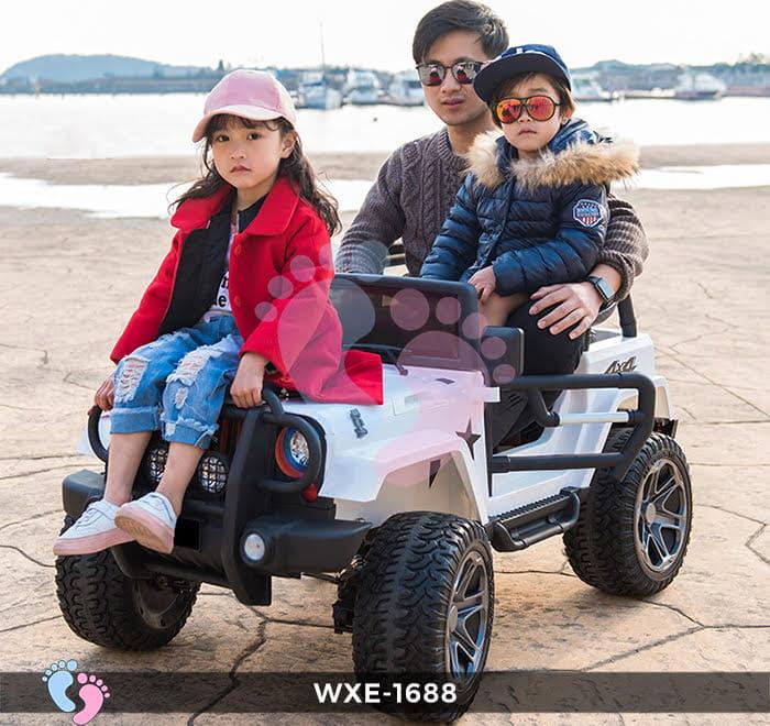 Xe oto điện trẻ em WXE-1688 2 chỗ ngồi 3