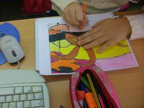 """Photo: Gauguin""""La Felicidad"""" Alumnado 5º Composición grupal"""