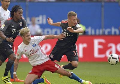 Bayern München boekt zijn vijfde competitiezege op rij, Thorgan Hazard zat andermaal op de bank bij Gladbach