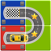 Unblock Taxi - Car Slide Puzzle