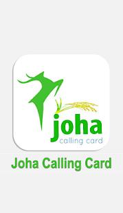 Joha Calling Card - náhled