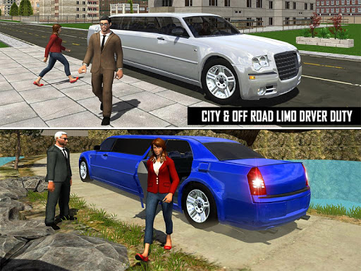 Big City Limo Car Driving Simulator : Taxi Driving 3.8 screenshots 14