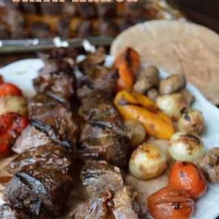 Beef Shish Kabob.