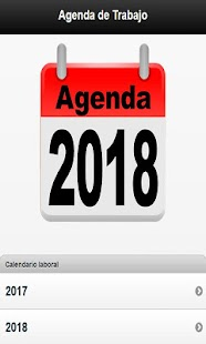 Agenda Calendario Laboral 2018 - náhled