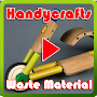 Handycrafts Waste Material APK icon