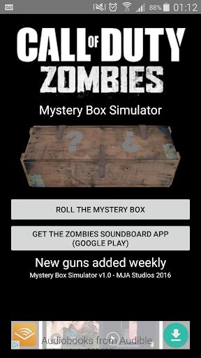 Zombies Mystery Box Simulator