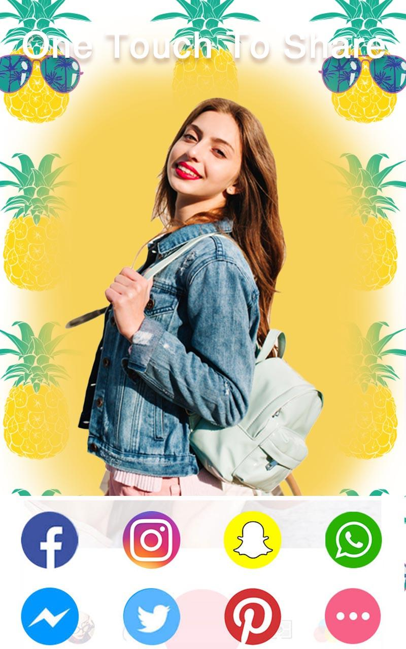 Sweet Selfie Pro - No Ads, Unique Filter & Sticker Screenshot 6