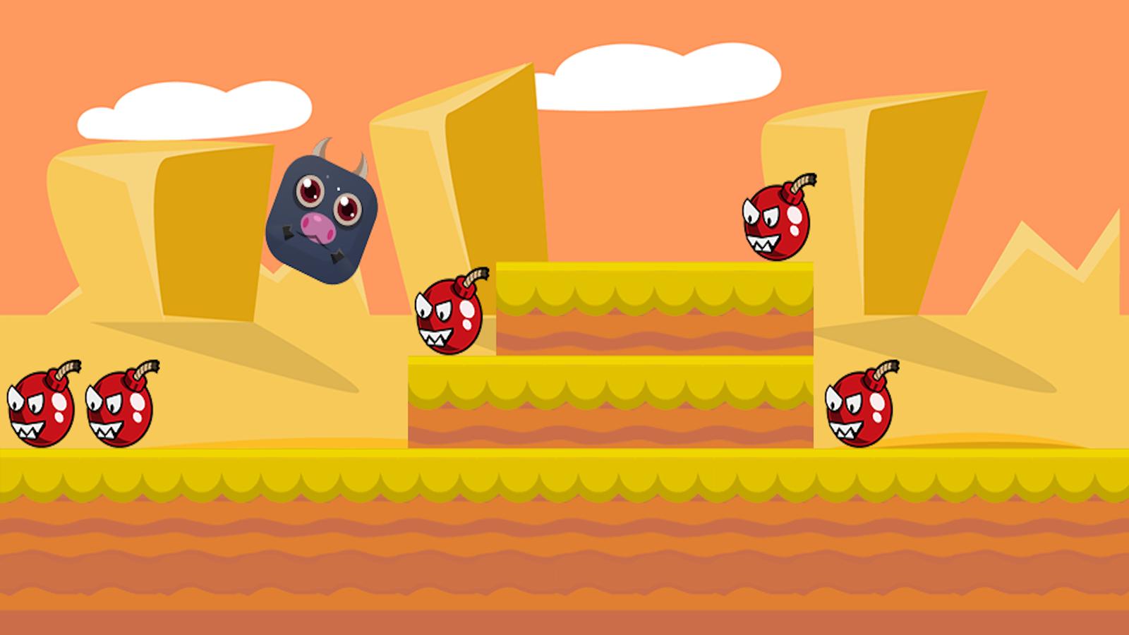 Bull Run Jump- screenshot