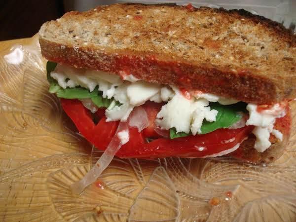 Tomato Basil Sandwich Recipe