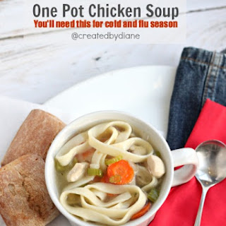 One Pot Chicken Soup