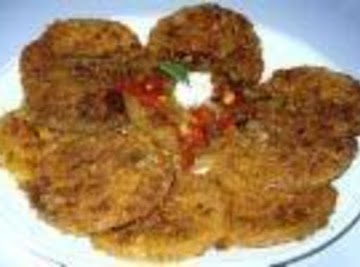 Deb's Fried Green Tomatoes Recipe
