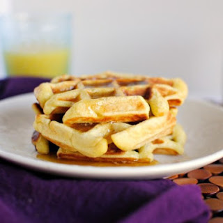 Honey Buttermilk Waffles + Vanilla Maple Syrup