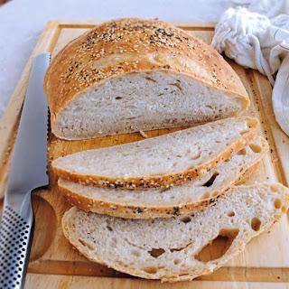 Sourdough No Knead Bread Recipe