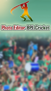 Photo Editor-BPL Cricket 2017 - náhled