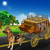 Dog Buggy : Drive Doggy Wagon