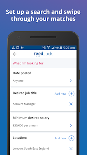 reed.co.uk Job Search - náhled