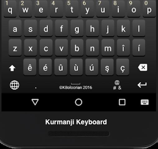 Advanced Kurdish Keyboard 4.7 screenshots 7