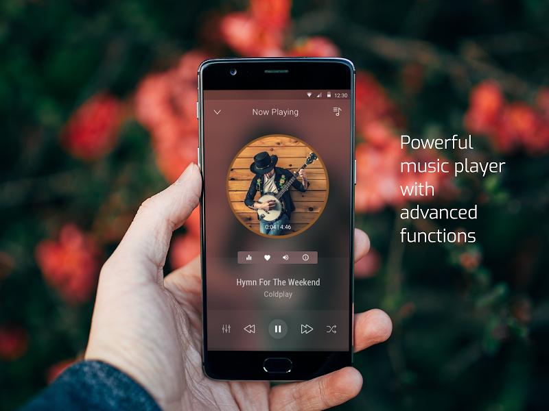 Audio Beats - Mp3 Music Player, Free Music Player Screenshot 0