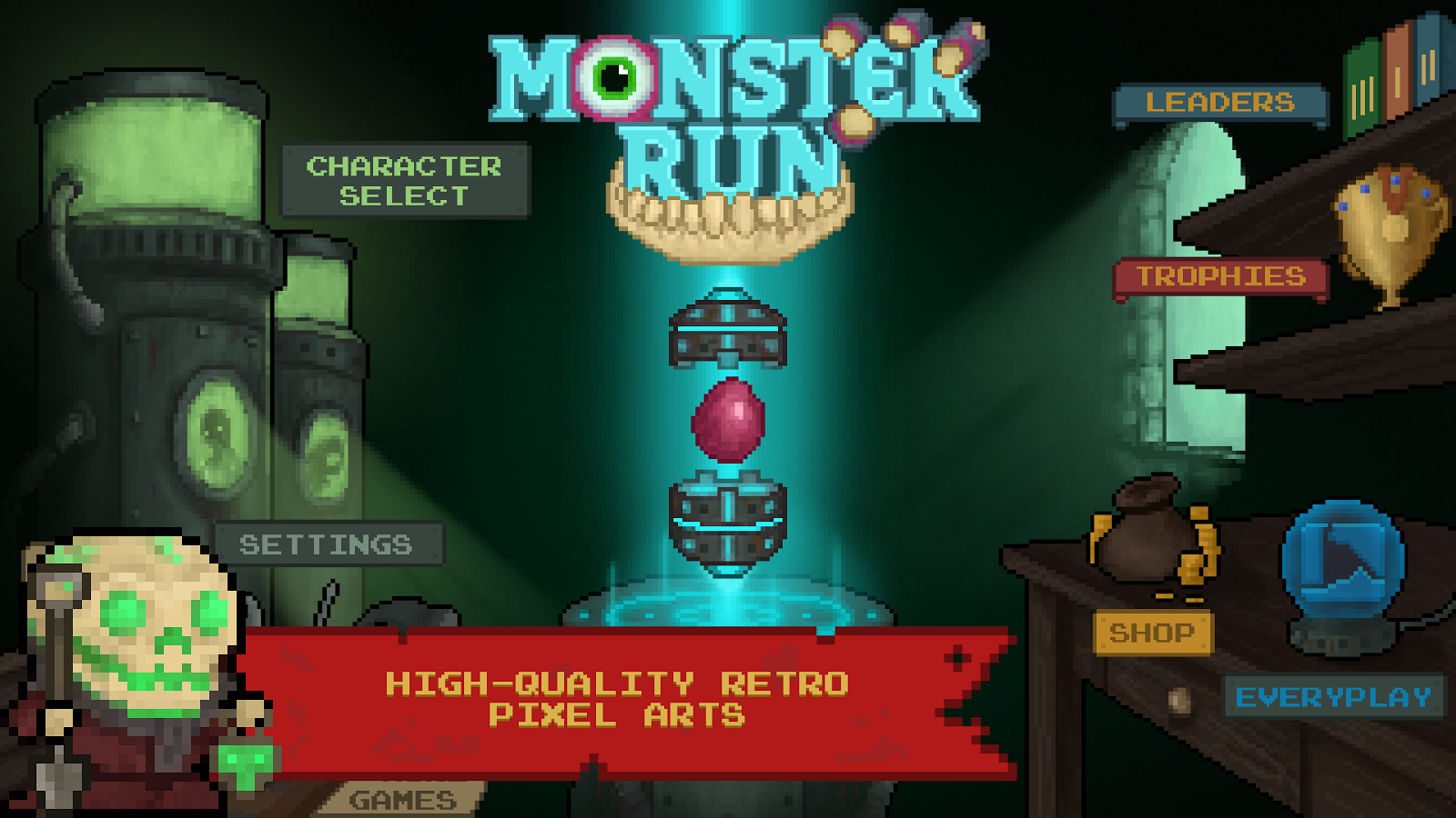 Monster Run- screenshot