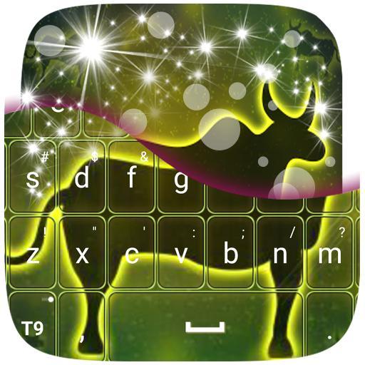 霓虹燈牛簽署鍵盤 個人化 App LOGO-硬是要APP