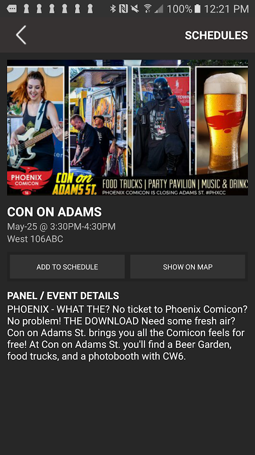 Phoenix Comicon- screenshot