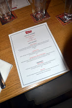 Photo: the menu