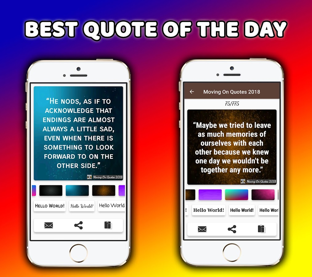 Moving On Quote Moving On Quotes About Life  Android Apps On Google Play