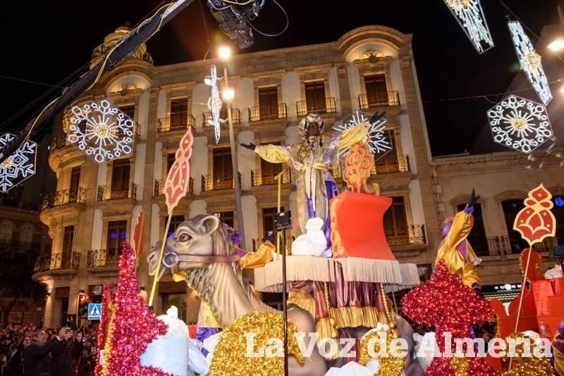 Cabalgata de Reyes en Almería capital