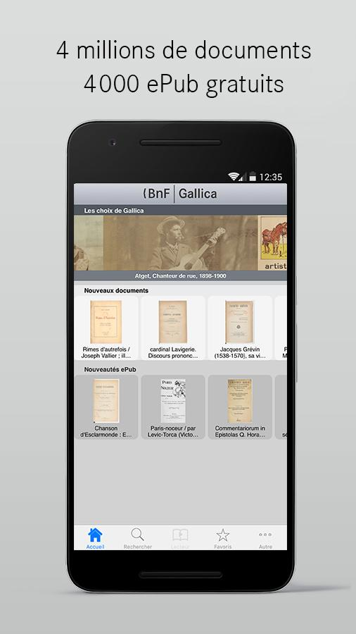 Gallica- screenshot