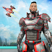 Game Flying Robot Superhero Game APK for Windows Phone