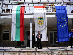 Photo: EU election day at our youth center!