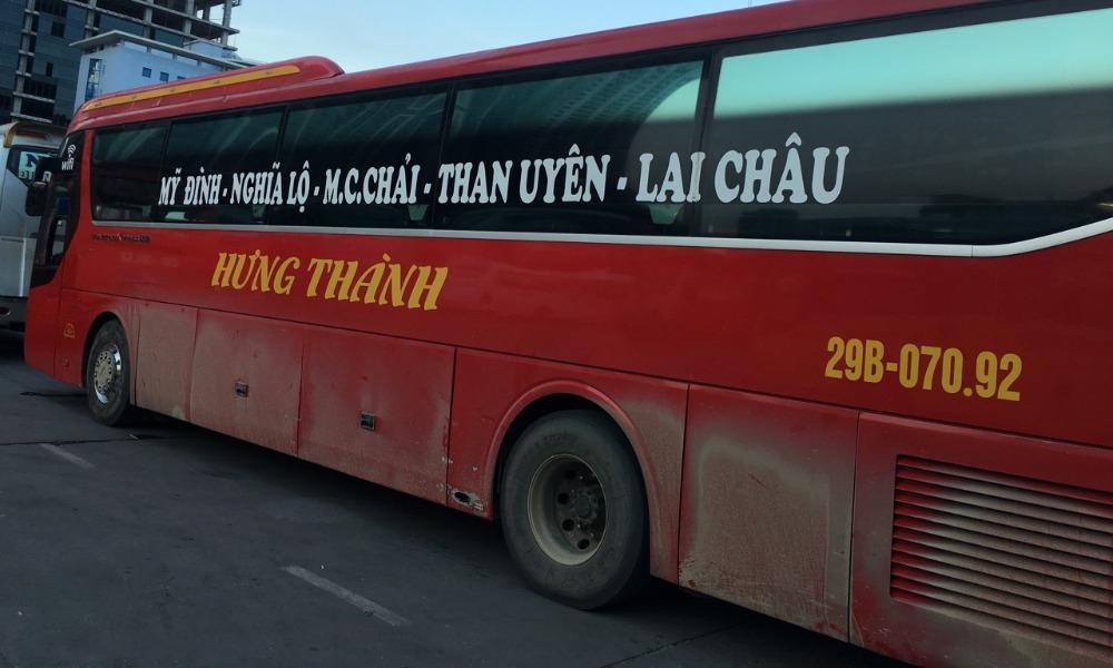 Xe Hưng Thành từ Hà Nội đi Lai Châu